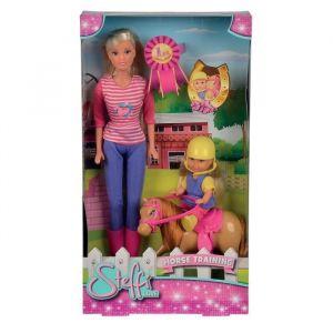 Simba Toys Steffi Love Monitrice d'équitation