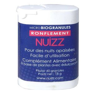 Phyto Research Nuizz Ronflement 60 granules