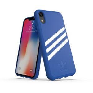 Adidas Coque Originals iPhone XR Bleu foncé / Blanc - SUEDE FW18