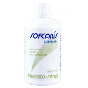Sofcanis Canin Hépato-renal - Supplément nutritionnel pour chiens