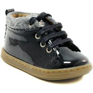 Shoo Pom Bouba Wool, Bottes Bébé Fille, Noir (Black/Grey), 23 EU