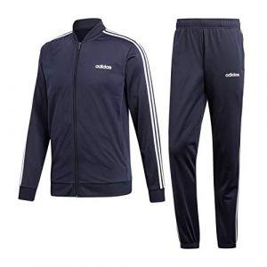 Adidas Survêtement zippé à capuche B2BAS 3-stripes Bleu Marine - Taille L;M;S;XL;XXL