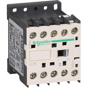 Schneider Electric Lc1 K09008b7 Contacteur 24 V 50/60 Hz, Contactor-2no 2 NC 20 A AC1 Bâtons
