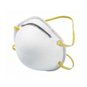 Ribitech PRPROTMP3 - Lot de 3 masques antipoussière avec pince métallique