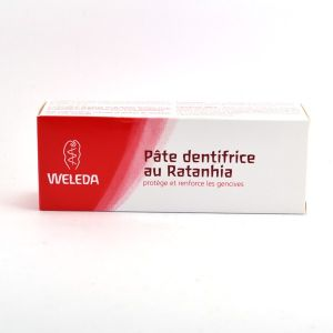 Weleda Dentifrice au Ratanhia 75 ml