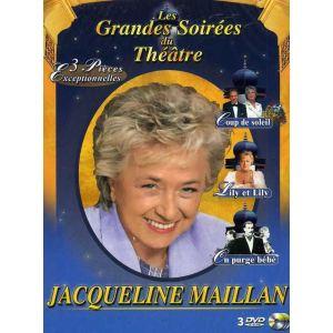 Coffret Jacqueline Maillan - Volume 1 : Coup de soleil + Lily et Lily + On purge bébé