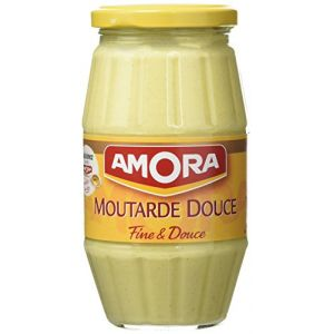 Amora Moutarde douce Bocal Or 435 g