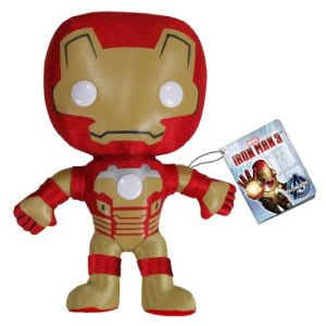 Funko Peluche Iron Man 3 : Mark 42 20 cm