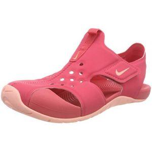 Nike Sunray Protect 2 (PS), Sandales de Sport Fille, Multicolore (Tropical Pink/Bleach 600), 35 EU