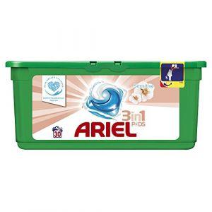 Ariel Lessive Sensitive 3 en 1 Liquitabs