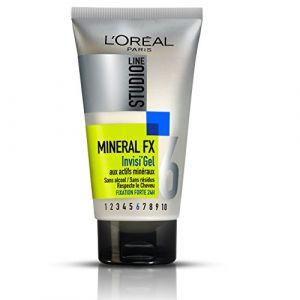 L'Oréal Studio Line Gel Coiffant Cheveux pour Homme Très Fixant 150 ml