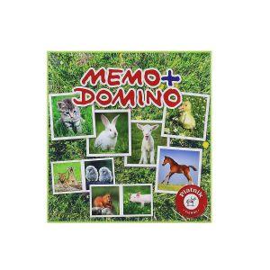 Piatnik Mémo + domino Bébés animaux