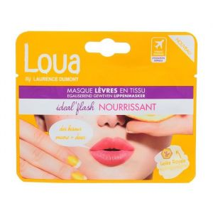Loua Masque lèvres nourrissant en tissu