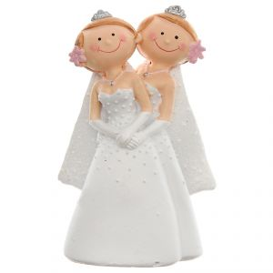 Santex 4938-1 - Figurine couple de mariés Mr & Mrs ou Mr & Mr ou Mrs & Mrs