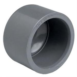 Raccord PVC pression - Bouchon PVC pression à coller F Ø125