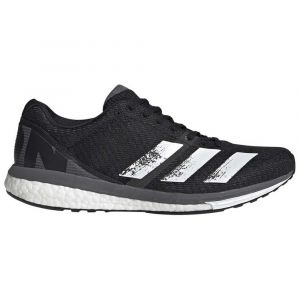 Adidas Chaussures running Adizero Boston 8 - Core Black / Footwear White / Grey Five - Taille EU 44