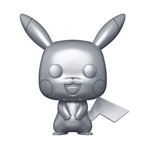 POP Figurine [Exclusive] Pokemon : Pikachu Stlver metallic [353]