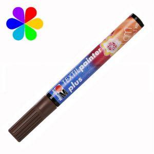 Marabu 011803784 - Marqueur pour tissu Textil Painter Plus, gold métal, pointe ogive 3 mm