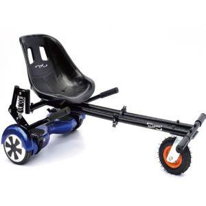 """Taagway Kit Kart Cross A5 avec suspension pour Hoverboard 6,5"""", 8"""" et 10"""" - Noir - Charge Max : 120kg"""
