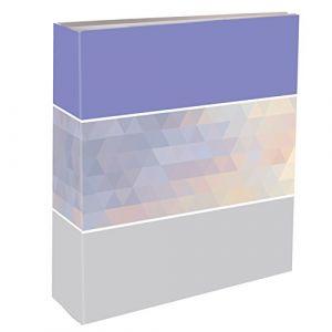 Emotion Graphik Album Photos Pochettes 200 Vues 11,5X15, Papier-Carton, Bleu, 5,5 x 22,5 x 24,8 cm