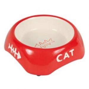 Trixie Ecuelle chat, céramique, ovale, 0,2 l/15 × 10 cm - 24495