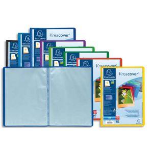 Exacompta 20 protège-documents Kreacover personnalisable 40 vues (A4)