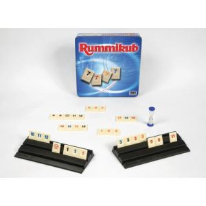 Hasbro Rummikub Boite Métal - Jeu de réflexion