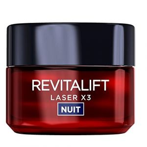 L'Oréal Revitalift Laser X3 Soin Crème de Nuit Anti-Âge Acide Hyaluronique