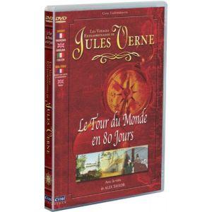 Image de Les Voyages extraordinaires de Jules Verne : Le Tour du monde en 80 jours / L'Étoile du Sud (Dessin animé) [DVD]