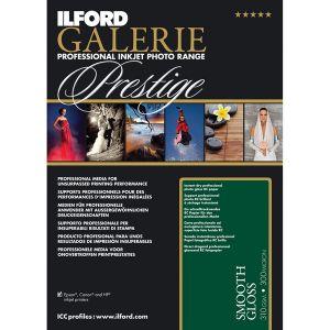 Ilford Galerie Prestige Smooth Gloss Paper A3 - 310g - 25F
