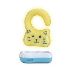 Switel Veilleuse portable Le Chat recharge par induction