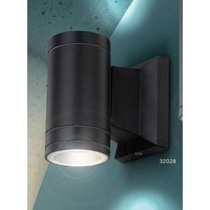 Image de Globo Lighting Lampe d'extérieur Globo GANTAR Gris, 1 lumière Design Extérieur GANTAR