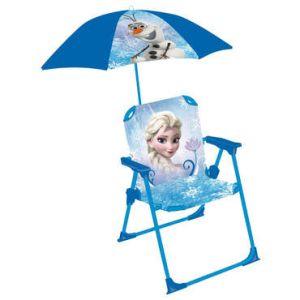Chaise avec parasol La Reine des Neiges