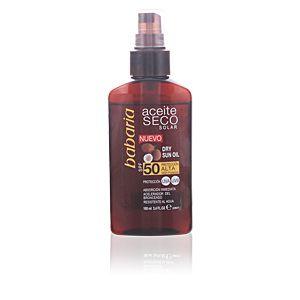 Babaria Dry Sun Oil - Huile sèche vaporisateur SPF50