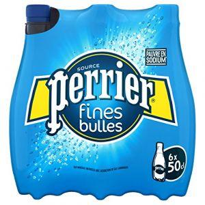 Perrier Fines Bulles Eau Minérale 6 x 50 cl