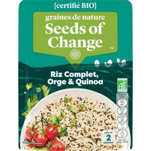 Seeds of Change Riz complet orge et quinoa