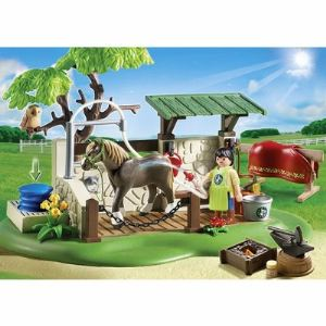 Playmobil 5225 Country - Box de soins pour chevaux