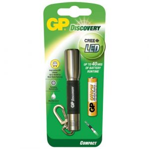 GP Lampe torche Discovery porte clé + 1xAAAUltra