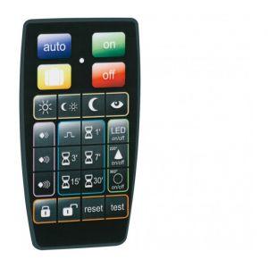 Hager Telecommande Pour Detecteur Ir Evolue Mural - 52900 - Compatibles Modeles 5212x, 5222x, 5232x