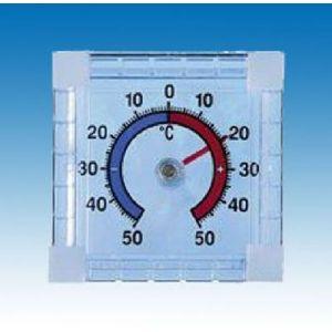 Filmer 2052069 Thermomètre Extérieur pour Assemblage de Fenêtre Blanc