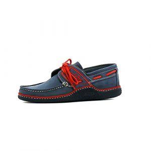 Tbs Chaussures bateau GLOBEK bleu - Taille 40,45,46