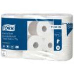 Tork Papier hygiénique Premium 4 plis (6 rouleaux)