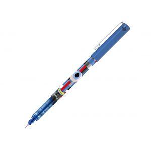 Pilot V5 - Roller encre liquide - Edition limitée Mika - Pointe fine 0,5 mm - Bleu