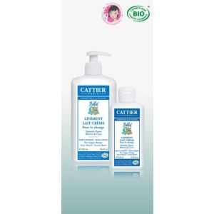 Cattier Liniment - Lait crème pour le change - 500 ml