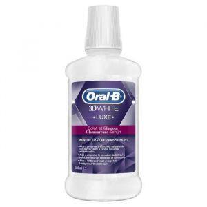 Oral-B 3D White Luxe - Bain de bouche Eclat et Glamour (500 ml)