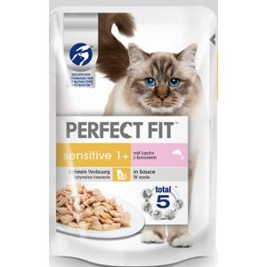 Perfect fit 12x85g Sensitive saumon - Nourriture pour Chat