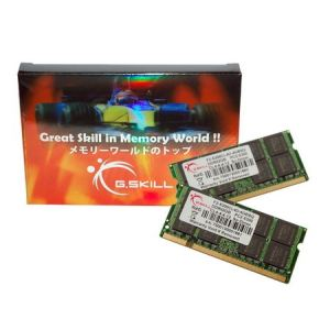 G.Skill F2-5300CL4S-2GBSQ - Barrette mémoire Standard 2 Go DDR2 667 MHz CL4 200 broches