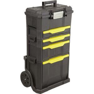 Stanley 1-79-206 - Coffre à outils roulant avec rangements