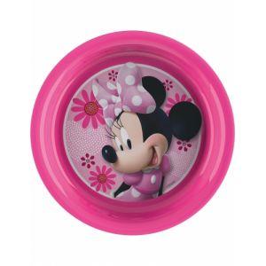 Assiette en plastique Minnie