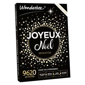 Wonderbox Joyeux Noël sensation - Coffret cadeau